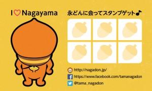 永どんサポーターズメンバーカード(ウラ)